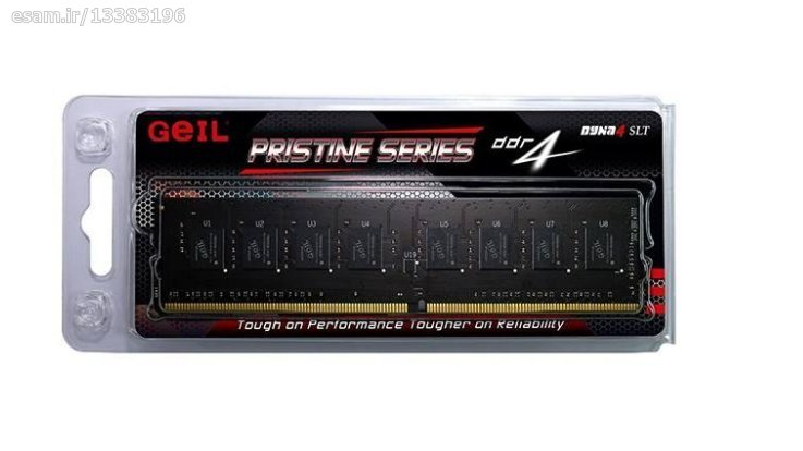 تصویر رم دسکتاپ DDR4 تک کاناله 2400 مگاهرتز CL16 گیل مدل ا Geil Pristine DDR4 2400MHz CL16 Single Channel Desktop RAM - 4GB Geil Pristine DDR4 2400MHz CL16 Single Channel Desktop RAM - 4GB