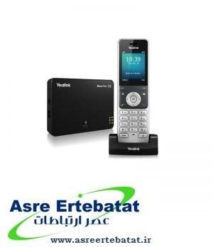 تصویر تلفن تحت شبکه بیسیم یالینک مدل دبلیو 56 پی Yealink W56P Wireless IP Phone