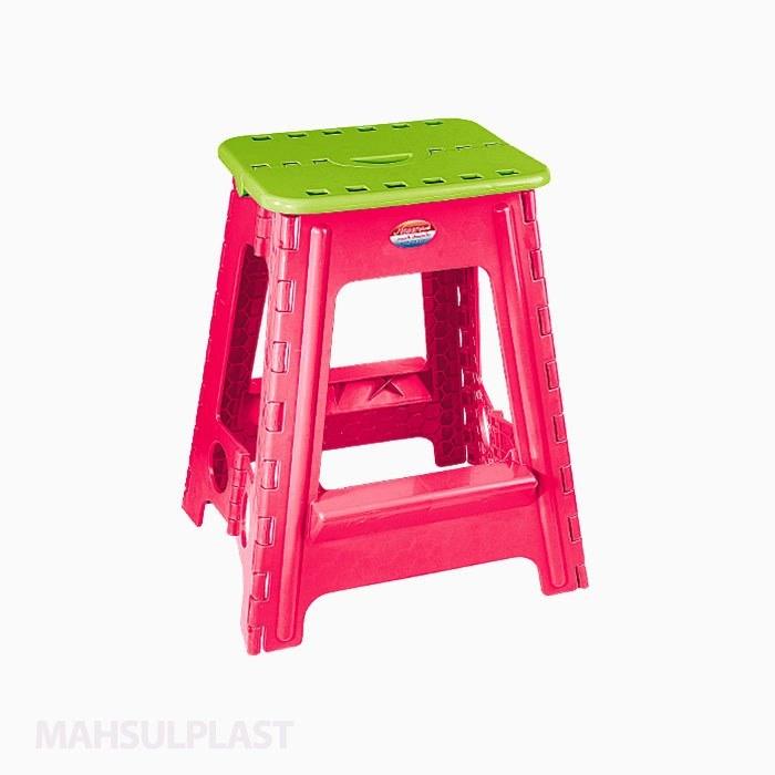 تصویر چهارپایه تاشو مدل ۵۱۸ ناصر پلاستیک