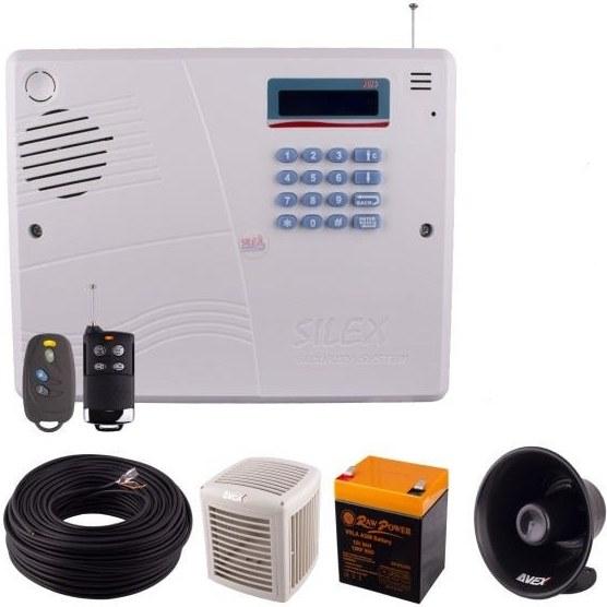 دزدگیر اماکن تلفنی سایلکس PD14 | امکان شنود صدای محیط Silex Security System