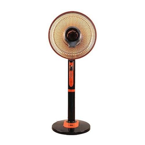 تصویر بخاری برقی هالوژنی کم مصرف کنزل (ارشیا) فن دار کنترل دار