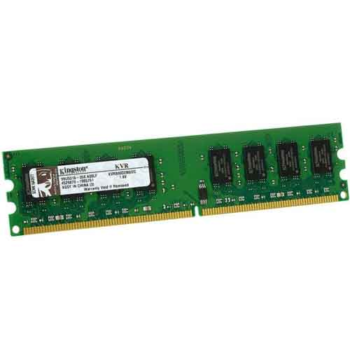 رم کامپیوتر کینگستون DDR۲ با ظرفیت ۲ گیگابایت | KingSton KVR DDR2 2GB 800MHz CL6 DIMM 16 Chip De