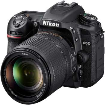 Nikon D7500 Digital Camera With 18-140mm VR AF-S DX Lens | Nikon D7500 DSLR Camera