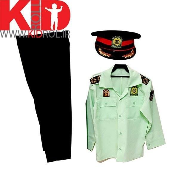 تصویر لباس پلیس نیروی انتظامی بچه گانه