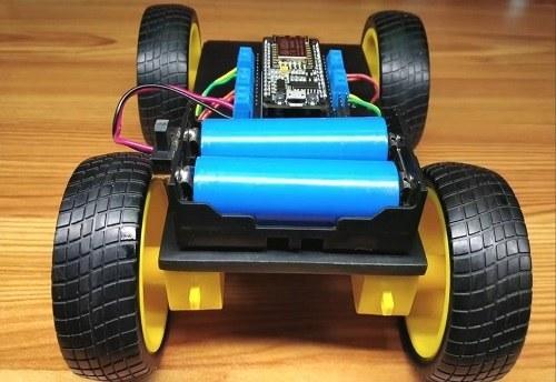 تصویر پروژه ربات کنترل از راه دور وای فای با موبایل
