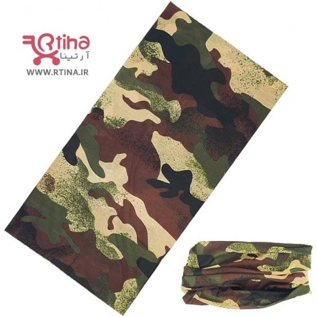تصویر دستمال سر و گردن نظامی (اسکارف چریکی تاکتیکال)