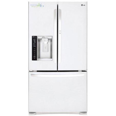یخچال فریزر درب فرانسوی ال جی 28 فوت سفید مدل LG MDF62W French Door Refrigerator  