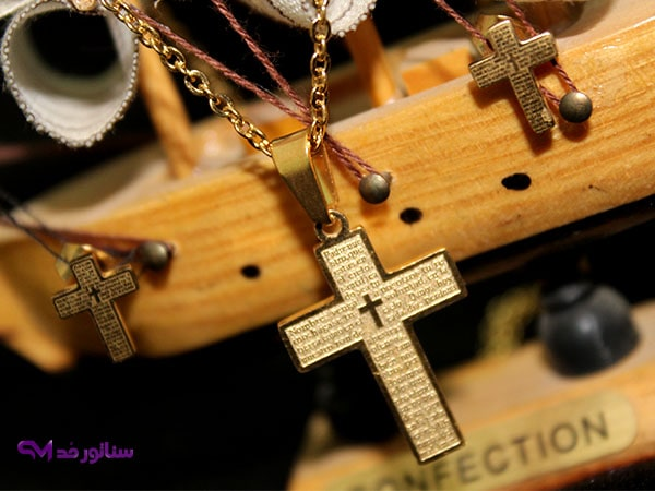 عکس نیم ست استیل طرح صلیب کد N 8029  نیم-ست-استیل-طرح-صلیب-کد-n-8029
