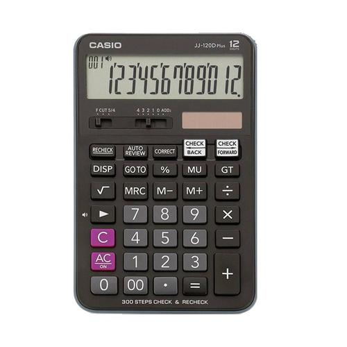 تصویر ماشین حساب DJ-120D Plus کاسیو Casio DJ-120D Plus Calculator