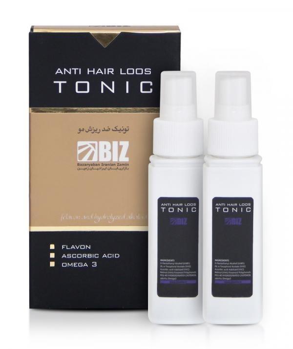 تصویر محلول تونیک تقویت و رویش مجدد مو دکتربیز BIZ ا Tonic solution to strengthen and regrow hair Tonic solution to strengthen and regrow hair