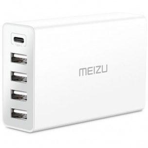 تصویر شارژر رومیزی 5 پورت Meizu مدل MU20