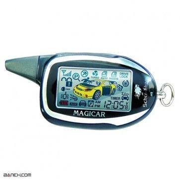 دزدگیر تصویری خودرو مجیکار SCHER KHAN CAR SECURITY SYSTEM MAGICAR 7