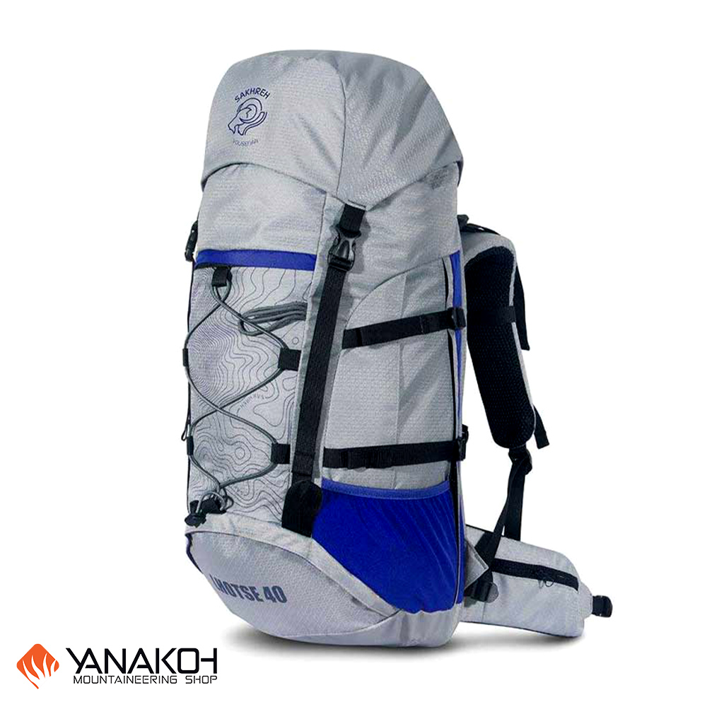 کوله کوهنوردی و سفر SAKHREH مدل لوتسه 40 لیتری