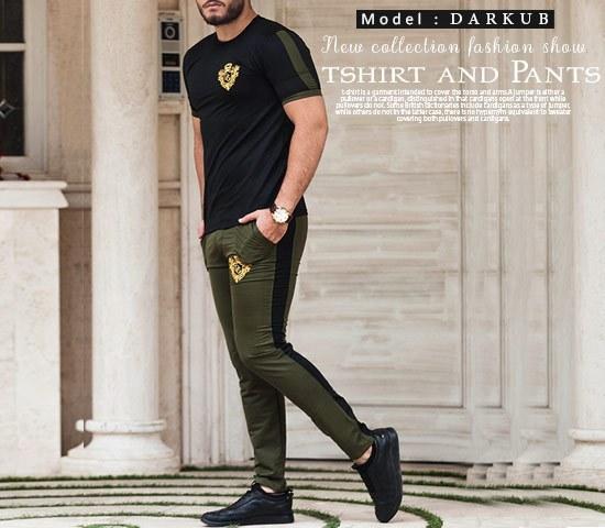ست تیشرت و شلوار مردانه مدل Darkub |