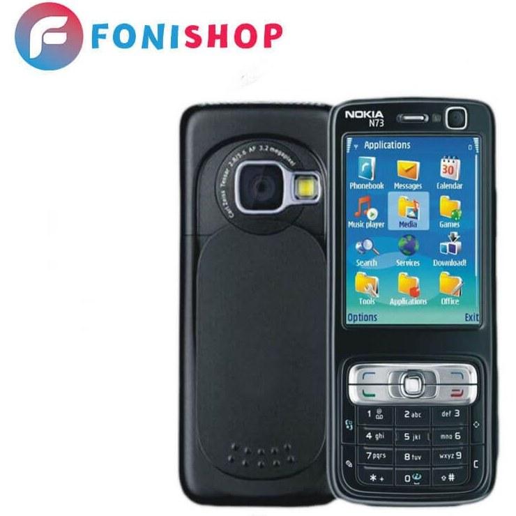 تصویر قاب اصلی کرهای نوکیا N73 (با شاسی) Nokia N73 Korean main frame
