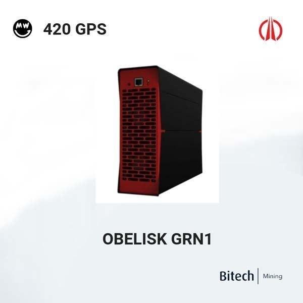 تصویر دستگاه ماینر Obelisk GRN1 420GPS