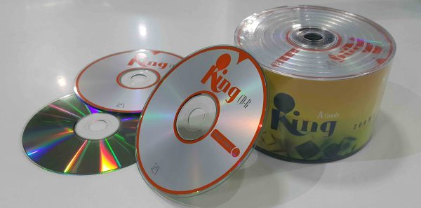 شرینگ سی دی خام ۵۰ عددی کینگ  King 700MB CD