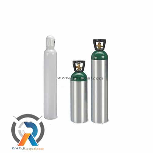 تصویر کپسول اکسیژن 10 لیتری پر شده oxygen tank