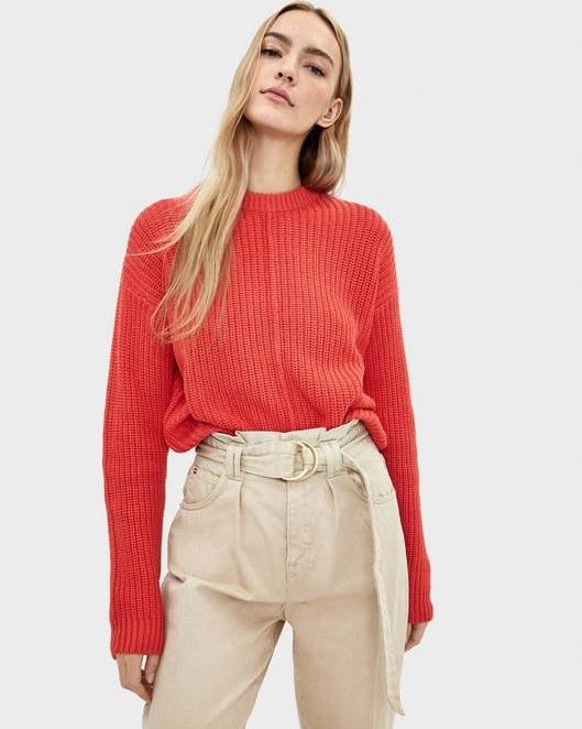 پولیور برشکا با کد 1779/645/967 ( Round neck oversized sweater )   پولیور زنانه برشکا
