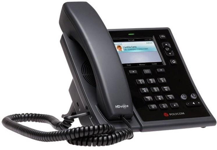 تصویر Polycom CX500 IP phone تلفن VoIP پلی کام مدل CX500 IP تحت شبکه