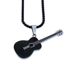 گردنبند مردانه طرح گیتار کد g900 |