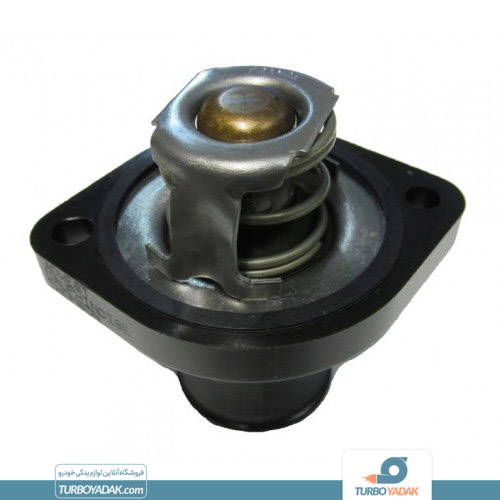 تصویر ترموستات ۷۵ درجه باباپارت موتور تولید ایران مناسب برای پژو ۲۰۶ تیپ ۲