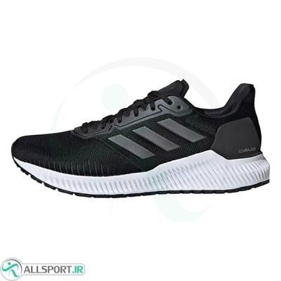 کتانی رانینگ مردانه آدیداس Adidas Men Solar Ride Running Black White