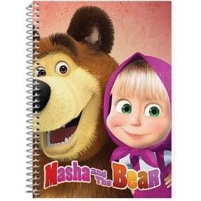 main images دفتر نقاشی طرح کارتون ماشا و خرس