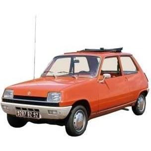 خودرو رنو 5 دنده ای سال 1980 | Renault 5 1980 MT