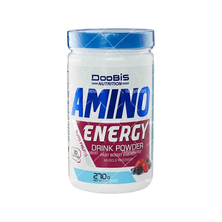 تصویر پودر آمینو انرژی دوبیس ۲۷۰ گرم ِDoobis Amino Energy Drink Powder 270 gr