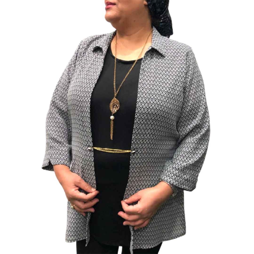 تصویر شومیز زنانه سایز بزرگ گوزل کد102 دارای رنگبندی