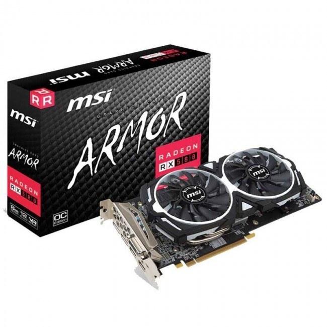 عکس کارت گرافیک ام اس آی مدل RX580 ARMOR 8G OC  کارت-گرافیک-ام-اس-ای-مدل-rx580-armor-8g-oc