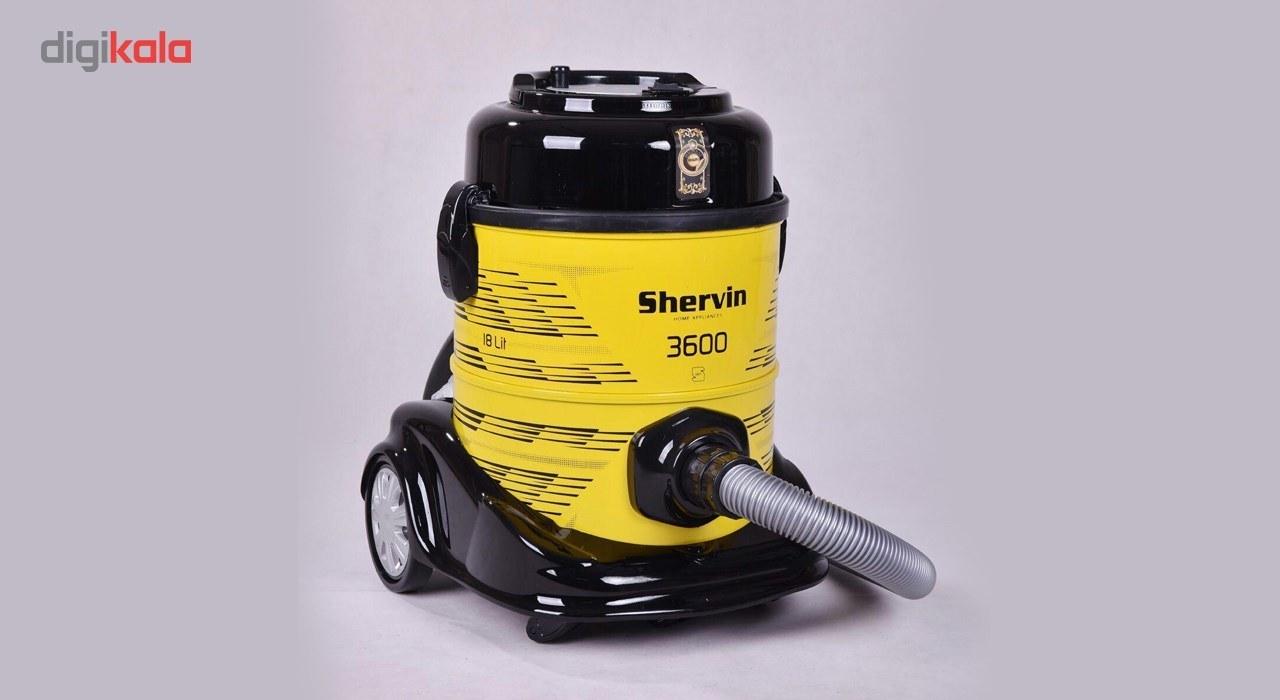 img جارو برقی صادراتی شروین مدل VC3600 Shervin Vacume cleaner VC3600