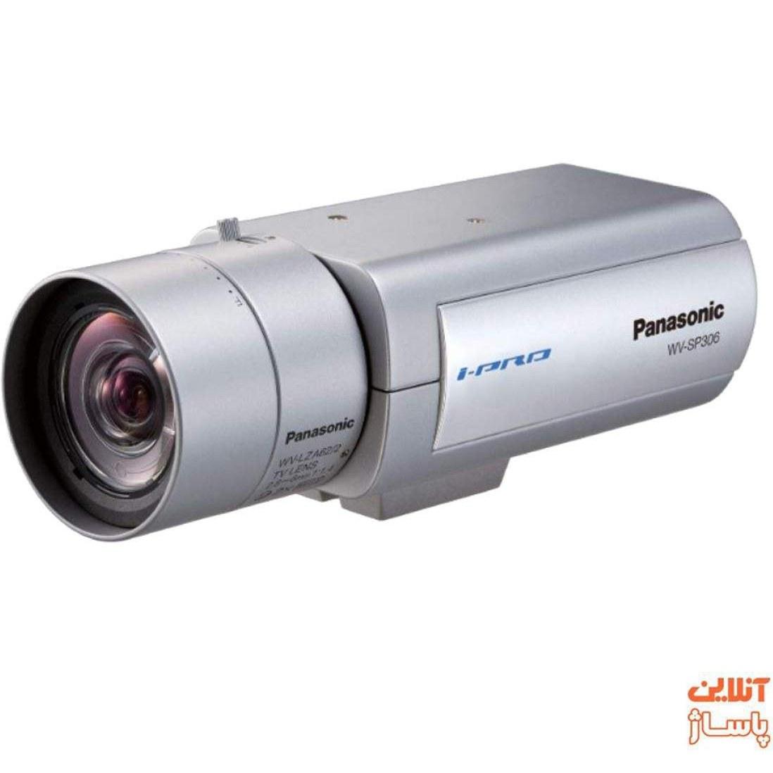 image دوربین مداربسته تحت شبکه پاناسونیک مدل WV-SP306E