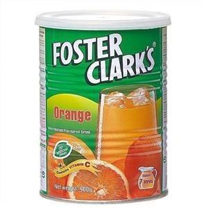 تصویر پودر شربت پرتقال قوطی فوستر کلارکس 900 گرم
