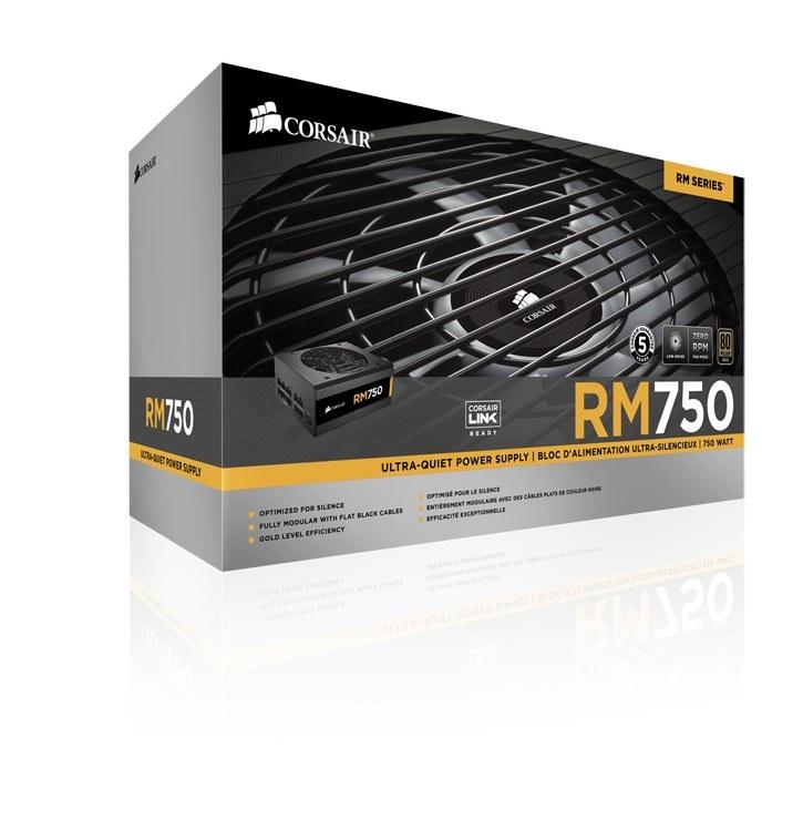 main images پاور 750 وات کورسیر پاور کورسیر RM750 Power Supply