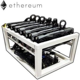 تصویر Ethereum Mining RIG ریگ ماینینگ  740MH/s هش ریت Ultimate Ethereum Mining RIG ( x6 RTX 3090 OC Edition 24GB . Dual x2 1800W Gold PSU Hash Ratio 700 MH/s≈740 MH/s , 81 kWh/day Max Power Consumption with OC Applied 24/7 )