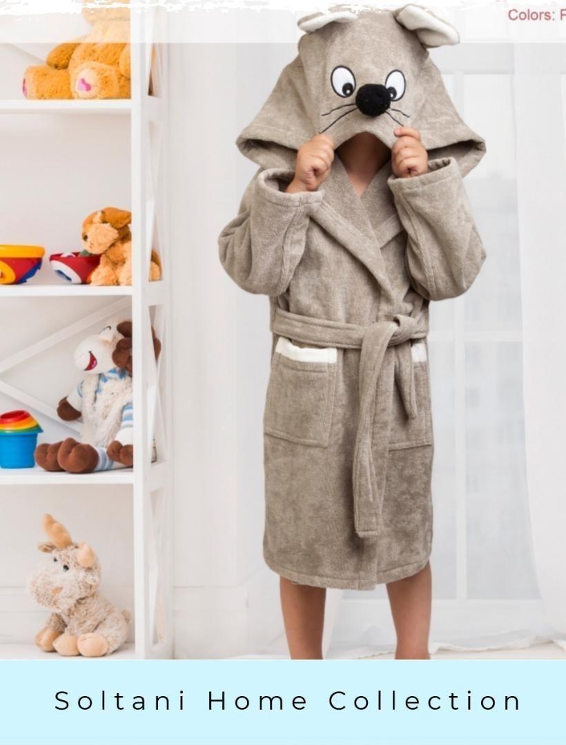 تصویر حوله تن پوش بچهگانه پود ایران مدل موش