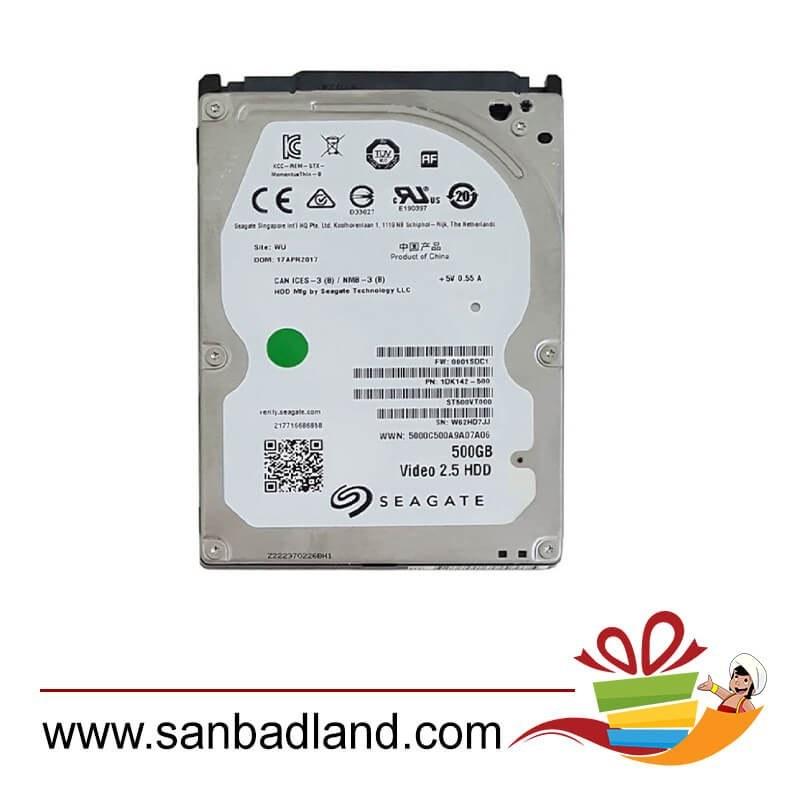 "main images هارد دیسک لپ تاپ سیگیت 500 گیگابایت ساتا رفر Hard Disk Laptop Seagate 500 GB 2.5"" SATA"