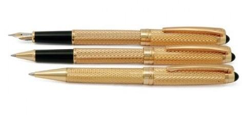 ست خودکار، روان نویس و خودنویس   یوروپن مدل Point | Europen Point Ballpoint Pen Rollerball Pen and Fountain Pen Set