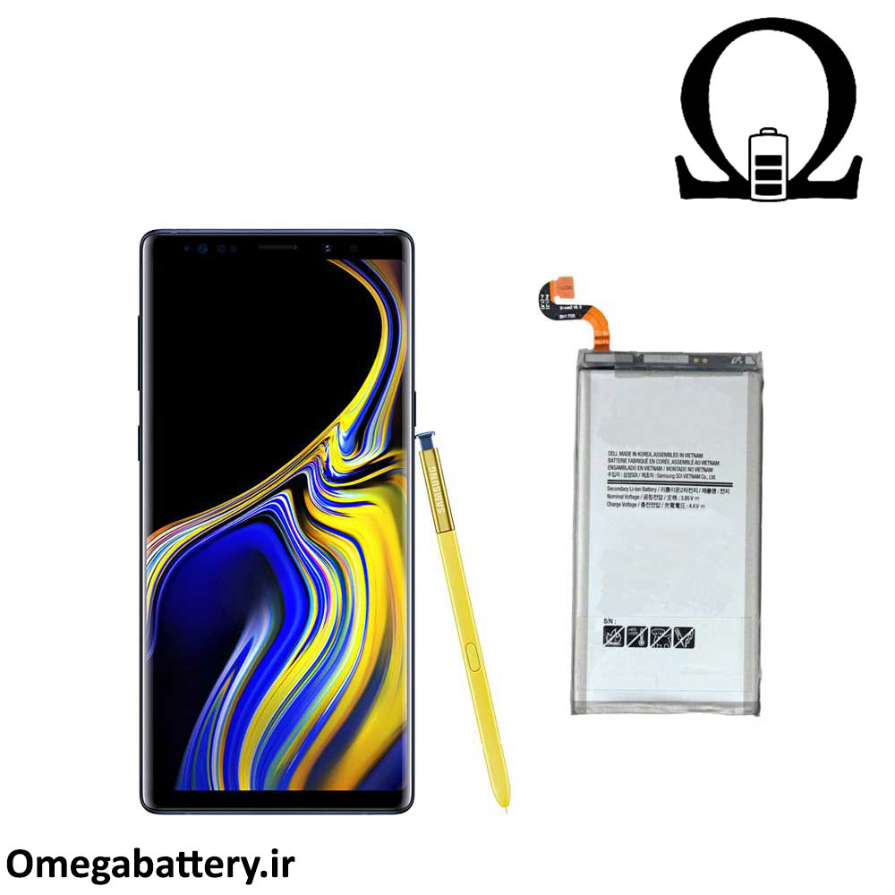 main images باطری اصلی سامسونگ  Samsung Galaxy Note 9 battery Samsung Galaxy Note 9