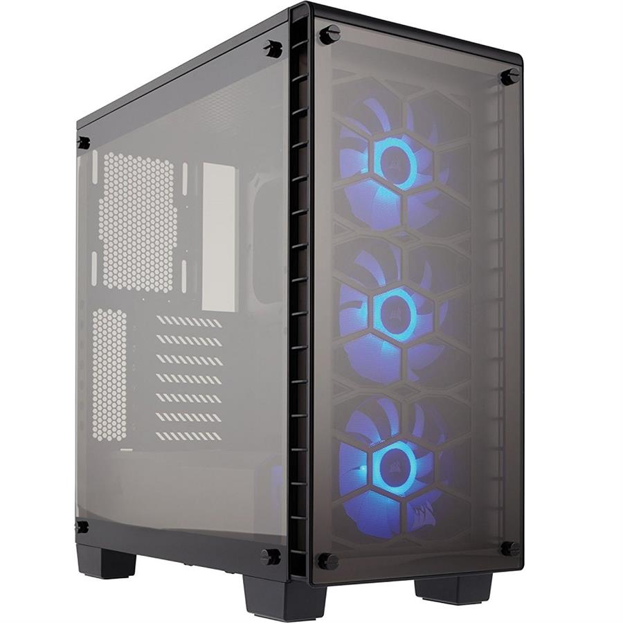 تصویر کیس کورسیر مدل Crystal Series 460X کامپکت کیس Case کورسیر Crystal Series 460X Compact ATX MID-Tower Case