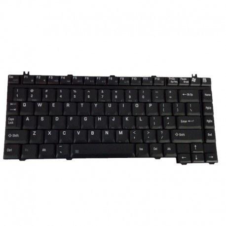 تصویر کیبورد لپ تاپ توشیبا A100 مشکی/Toshiba Laptop Keyboard Satellite Pro A100 Black