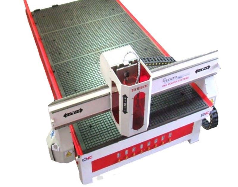 تصویر سی ان سی تخت تکنوتک ماشین مدل 290*130
