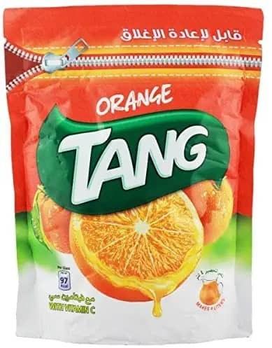 تصویر شربت پودری تانج پرتقالی 500 گرم Tang Orange