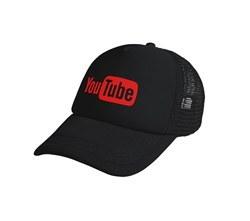 تصویر کلاه توری مشکی یوتوب