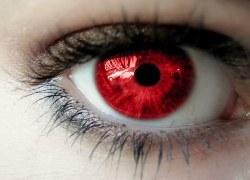 تصویر دانلود فایل سابلیمینال تغییر رنگ چشم به قرمز | فاپول