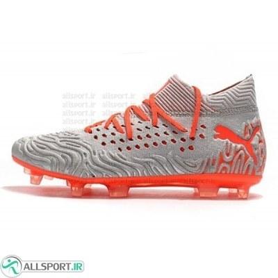 کفش فوتبال پوما فیوچر طرح اصلی نارنجی Puma Future Netfit Griezmann 19.1 FG Cleats Orang