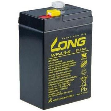 تصویر باتری یو پی اس6 ولت 4.5 آمپر ساعت لانگ مدل WP4.5-6
