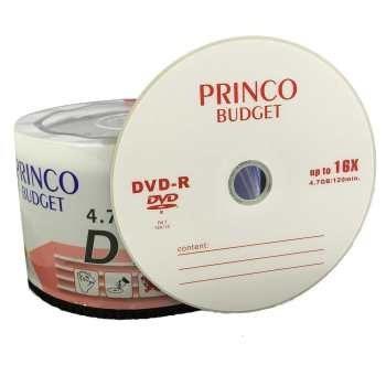 دی وی دی خام  پرینکو بسته 50 عددی | Princo DVD-R  Pack of 50
